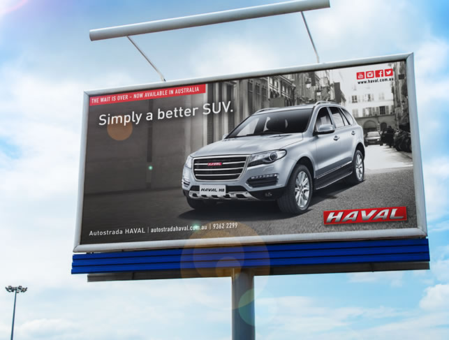 HAVAL Outdoor Advertising