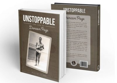 UNSTOPPABLE – BOOK DESIGN